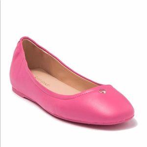 Kate Spade Kora Leather Ballet Flat 138$